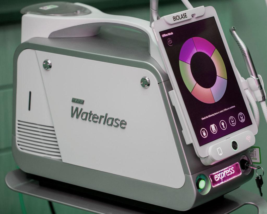 waterlaser machine